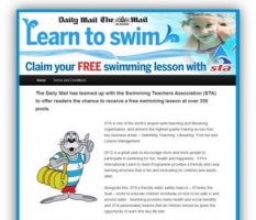 Daily Mail Free Swimming Campaign