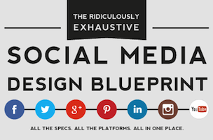 Tip #10: Dimensions for images in twitter, facebook, linkedin, googleplus, pintrest
