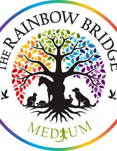 the rainbow bridge medium logo